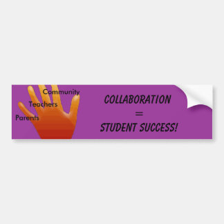 Collaboration Bumper Sticker