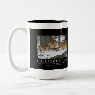 Collaboration Demotivational  Mug