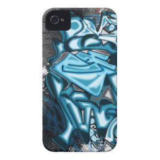 Collabro Graffiti Blue Dream Team Case-Mate iPhone 4 Case