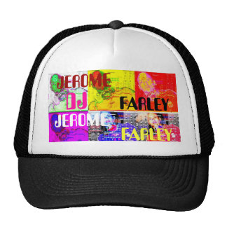 collage189, DJ, JEROME, FARLEY, JEROME, FARLEY Gorros Bordados