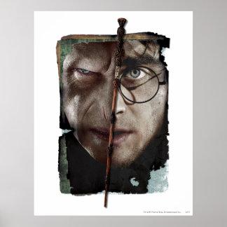 Collage 10 de Harry Potter Poster