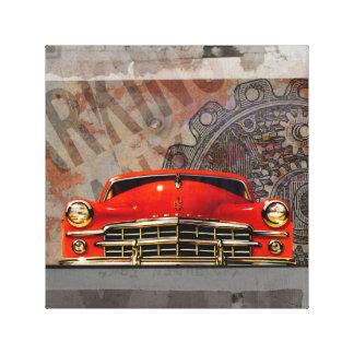 Collage 1949 del arte de Digitaces del coche del