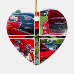 Collage 1955 del sedán de Chevrolet Ornamentos De Reyes