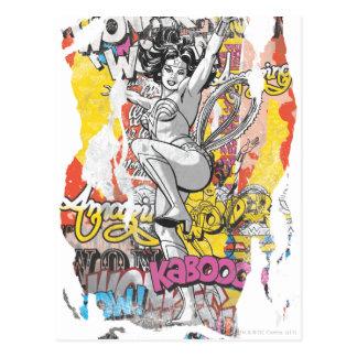 Collage 1 de la Mujer Maravilla Postales