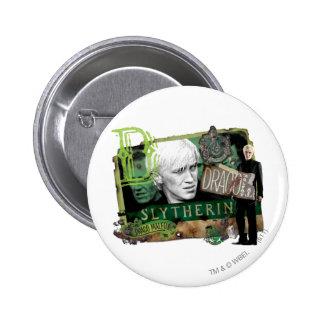 Collage 1 de Malfoy del Draco Pin Redondo De 2 Pulgadas