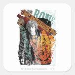 Collage 1 de Ron Weasley Colcomanias Cuadradas