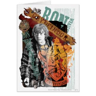 Collage 1 de Ron Weasley Tarjeta De Felicitación