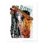 Collage 1 de Ron Weasley Tarjeta Postal
