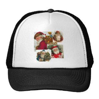 Collage 1 de Santa del vintage Gorras