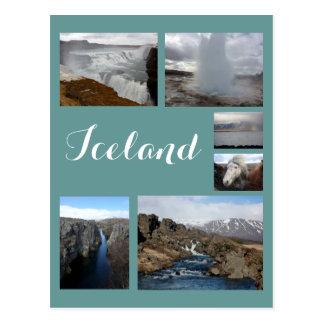 Collage 2 de Islandia Postales