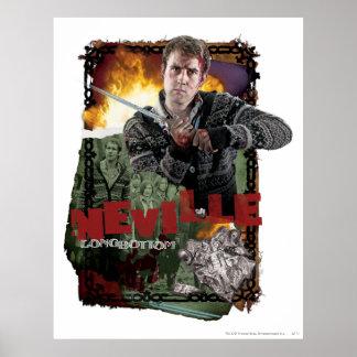 Collage 2 de Neville Longbottom Póster