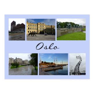 Collage 2 de Oslo Postales