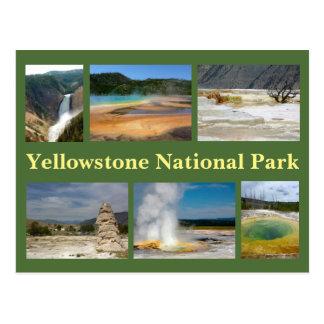Collage 2 de Yellowstone Postales