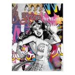 Collage 3 de la Mujer Maravilla Postales