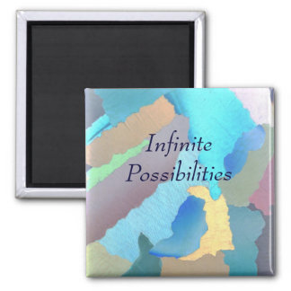 collage 4, Infinite Possibilities Magnet