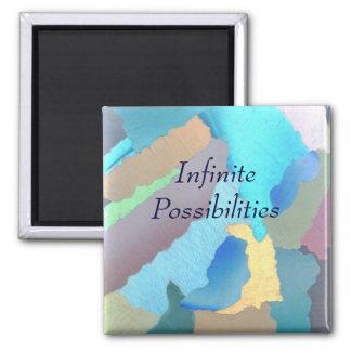 collage 4, posibilidades infinitas imán cuadrado