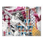 Collage 5 de la Mujer Maravilla Postales