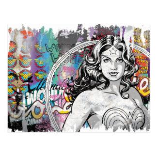 Collage 6 de la Mujer Maravilla Tarjetas Postales
