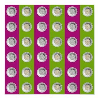 collage 6x6 del pepita invitacion personalizada