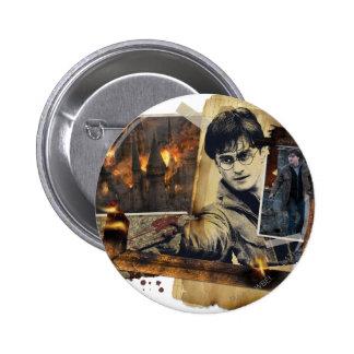 Collage 7 de Harry Potter Pin Redondo De 2 Pulgadas