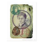 Collage 9 de Harry Potter Tarjetas Postales