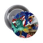 COLLAGE AMERICANO PINS