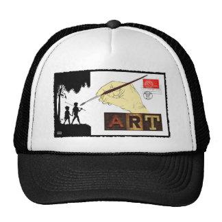 COLLAGE ART MESH HATS