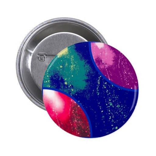 collage, artículos flúidos coloridos, abstractos pin