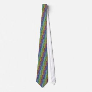 Collage artístico de acrílico de la plataforma del corbatas personalizadas