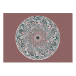 Collage Blossom Mandala Artist Trading Card - ACEO Large Business Cards (Pack Of 100)