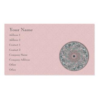 Collage Blossom Mandala - Business Card