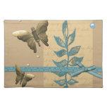 Collage bonito de la mariposa