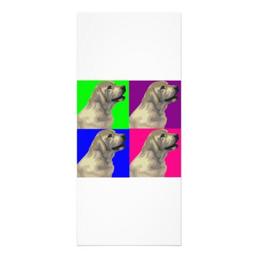Collage brillante del color de Labrador Lonas