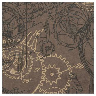 Collage Brown del mecanismo Telas
