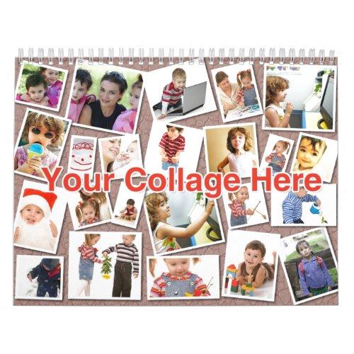 Collage Calendar calendar