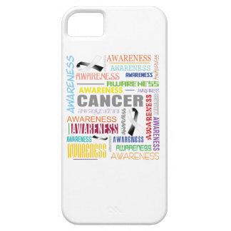 Collage carcinoide de la conciencia del cáncer iPhone 5 Case-Mate protector