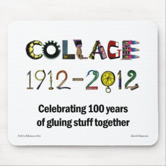 Collage - Celebration 100 Years Mouse Pad