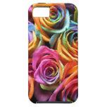 Collage color de rosa iPhone 5 funda