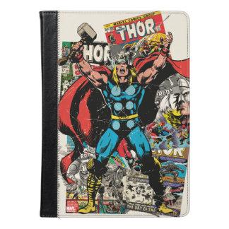 Collage cómico retro del Thor
