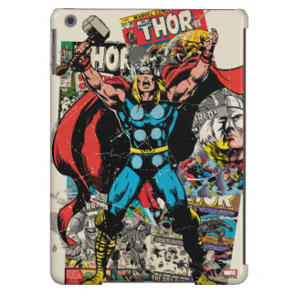 Collage cómico retro del Thor Funda iPad Air