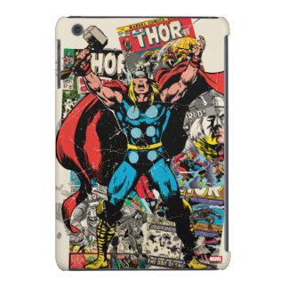 Collage cómico retro del Thor Funda Para iPad Mini Retina