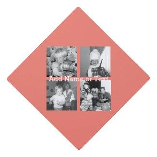 Collage con 4 imágenes - coral de la foto de