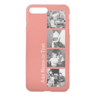 Collage con 4 imágenes - coral de la foto de fundas para iPhone 7 plus