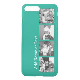 Collage con 4 imágenes - esmeralda de la foto de fundas para iPhone 7 plus