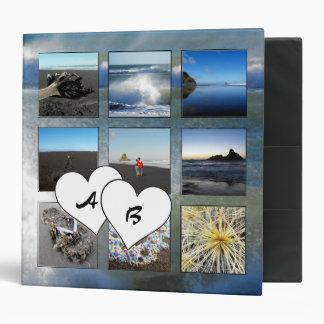 Collage con monograma de la foto