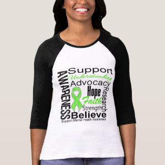 Collage - conciencia de la salud mental camisetas