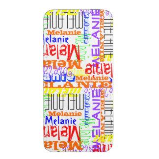 Collage conocido de encargo personalizado colorido bolsillo para iPhone