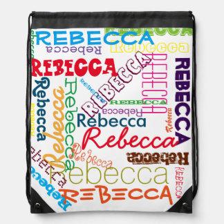 Collage conocido de encargo personalizado mochilas