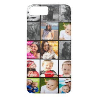 Collage Create Your Own Personalized Custom iPhone 8 Plus/7 Plus Case
