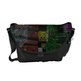 Collage cristalino bolsas de mensajería